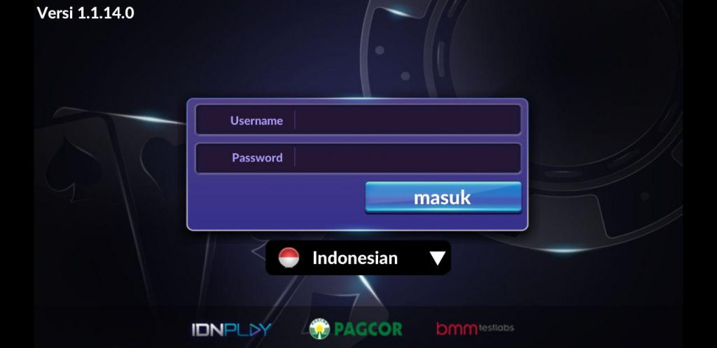 login idnpoker mobile